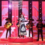 Lorena es Rocío Dúrcal en la octava gala de 'Tu cara me suena'