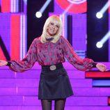 Esther Arroyo es France Gall en la octava gala de 'Tu cara me suena'