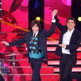 Camilo Sesto visita la octava gala de 'Tu cara me suena'
