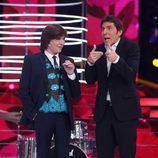 Camilo Sesto llega a la octava gala de 'Tu cara me suena'