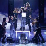 Blas Cantó es Cher en la octava gala de 'Tu cara me suena'