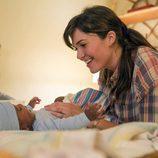 Rebecca y su hijo en 'This is us'