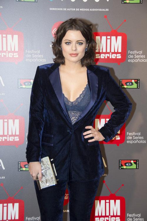 Adriana Torrebejano posando en los Premios MiM 2016