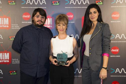 La actriz Nathalie Seseña mejor actriz de comedia en los Premios MiM 2016
