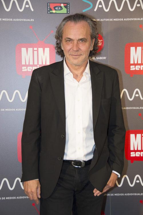 El actor José Coronado posando en los Premios MiM 2016