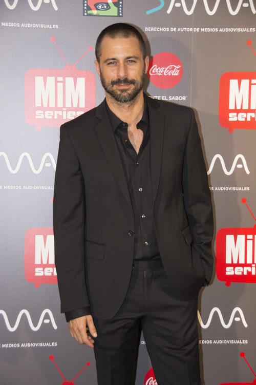 El actor Hugo Silva en los Premios MiM 2016
