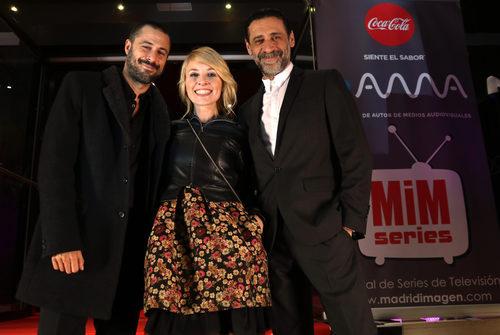 Hugo Silva, Cayetana Guillén Cuervo y Nacho Fresneda en los Premios MiM 2016