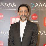 Nacho Fresneda posa en los Premios MiM 2016
