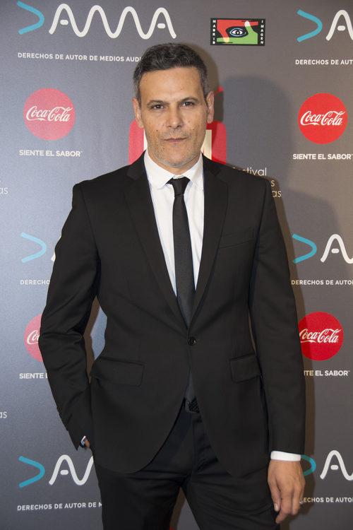 Roberto Enríquez, actor de 'Vis a Vis' en los Premios MiM 2016