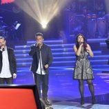 El equipo de Alejandro canta en los segundos directos de 'La Voz'