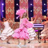 Rosa López imita a Carmen Sevilla en la novena gala de 'Tu cara me suena'