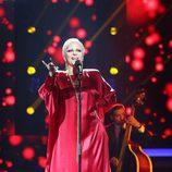 Yolanda Ramos imita a Peggy Lee en la novena gala de 'Tu cara me suena'
