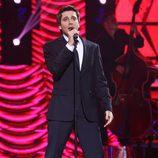Blas Cantó como Michael Bublé en la novena gala de 'Tu cara me suena'