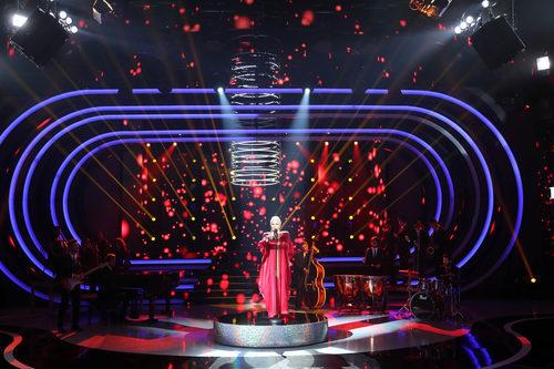 Yolanda Ramos como Peggy Lee en la novena gala de 'Tu cara me suena'