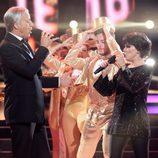 Beatriz Luengo y Pablo Puyol son Liza Minelli y Frank Sinatra en la novena gala de 'Tu cara me suena'