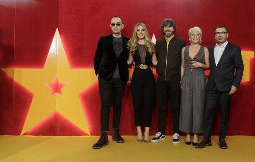 'Got Talent España', el presentador y el jurado de la segunda temporada