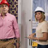 Amador y Maite entran juntos a casa de la escritora en 'La que se avecina'
