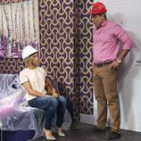 Maite mantiene una convesación con Amador en 'La que se avecina'