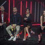Miguel, Rodri, Bea y Meritxell, finalistas de 'Gran Hermano 17'