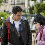 La serie 'Física o Química' con los actores Karim El-Karem y Angy Fernández