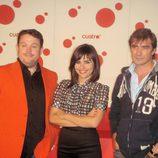 Miqui Puig, Eva Perales y Jorge Flo