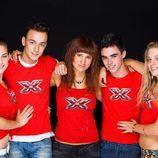 Concursantes de menores de 25 del concurso 'Factor X'