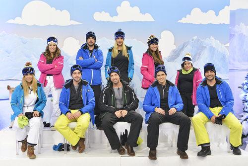 Participantes de 'Sálvame Snow Week'