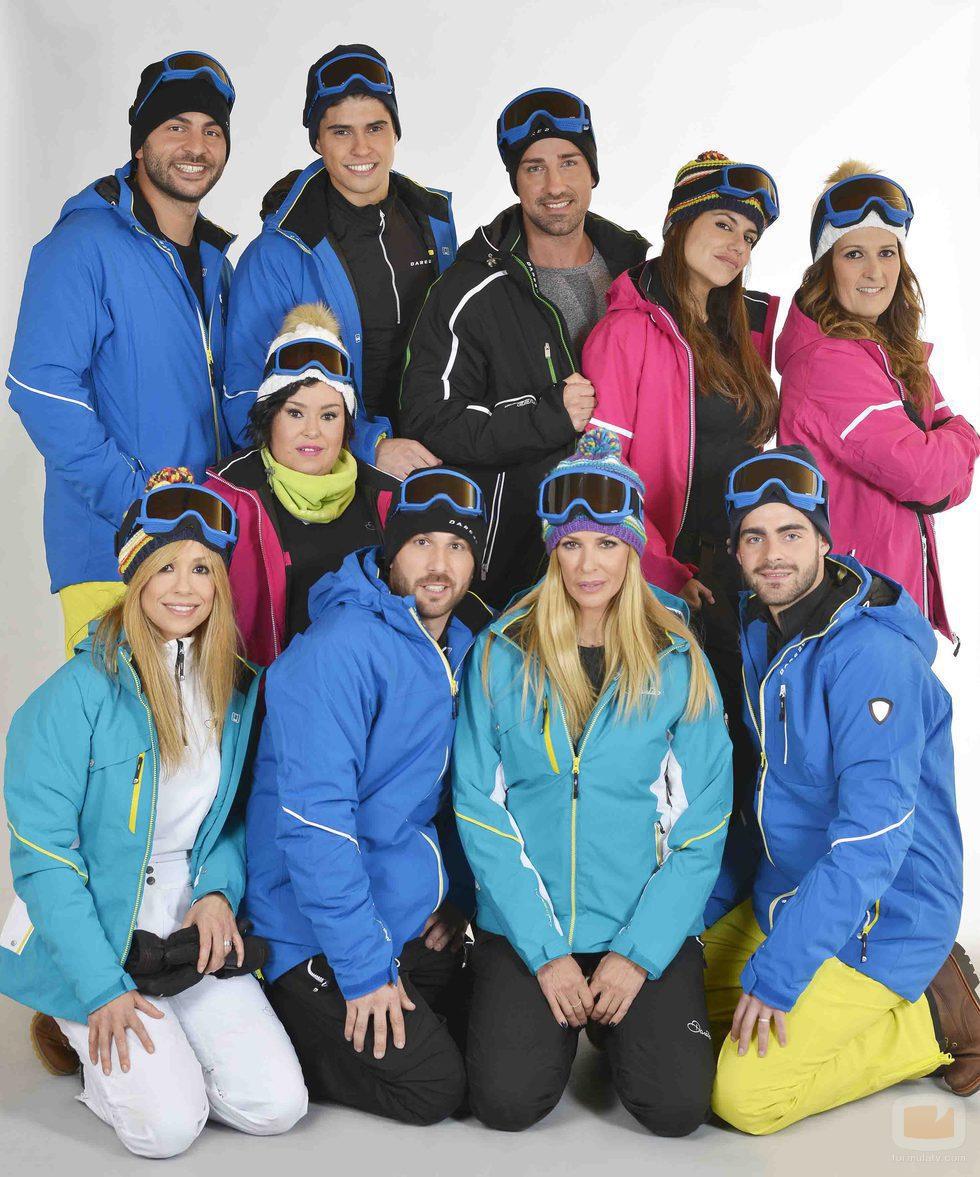 Concursantes de 'Sálvame Snow Week'
