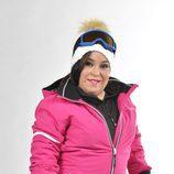 Chiqui concursa en 'Sálvame Snow Week'