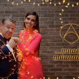 Alberto Chicote junto a Cristina Pedroche vestidos de gala