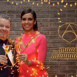 Alberto Chicote brinda con Cristina Pedroche antes de presentar las Campanadas que despedirán al 2016 en Antena 3
