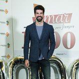 Miguel Ángel Muñoz en el acto que conmemora los 1000 capítulos de 'Amar es para siempre'