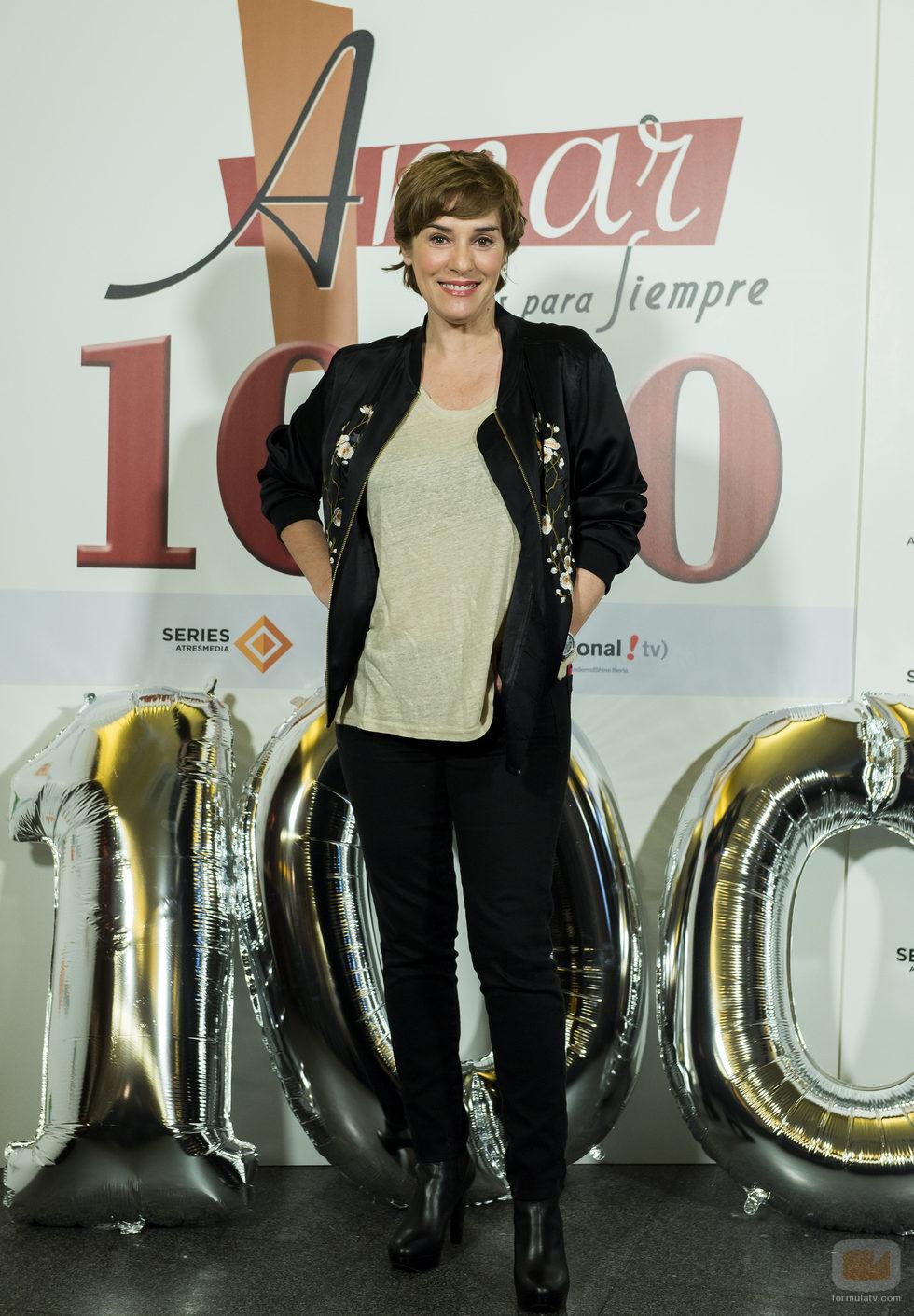 Anabel alonso durante el acto de celebraci n de los 1000 - Antena 3 tv series amar es para siempre ...