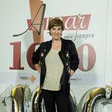 Anabel Alonso durante el acto de celebración de los 1000 capítulos de 'Amar es para siempre'