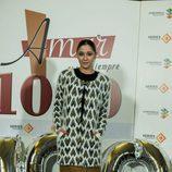 Mariam Hernández en la celebración de los 1000 capítulos de 'Amar es para siempre'