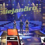 El equipo de Alejandro Sanz canta juntos en 'La Voz'