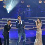 El equipo de Melendi canta en las semifinales de 'La Voz'