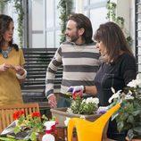 Fermín habla con Menchu y Yoli en el último capítulo de la novena temporada de 'La que se avecina'