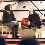 Josema Yuste y Pepe Viyuela actuando en la Gala de los 60 años de TVE