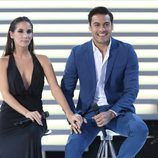 India Martínez y Carlos Rivera en la Gala de los 60 años de TVE