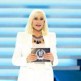 Raffaella Carrà, presentadora de la Gala de los 60 años de TVE