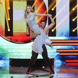 Silvia Abril imita a Edurne junto a Giuseppe Di Bella en 'Tu cara me suena'