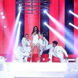 Beatriz Luengo imita a Ariana Grande en 'Tu cara me suena'