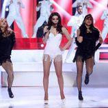 """Beatriz Luengo canta """"Focus"""" de Ariana Grande en 'Tu cara me suena'"""