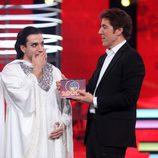 Blas Cantó gana la gala 10 de 'Tu cara me suena'