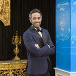 Roberto Leal en la presentación de Navidad de RTVE