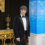 Jordi Cruz durante la presentación de Navidad de RTVE