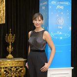 Carolina Casado durante la presentación de Navidad de RTVE