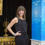 Sandra Daviu en la presentación de Navidad de RTVE
