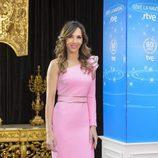 Paloma Lago, presente durante la presentación de Navidad de RTVE
